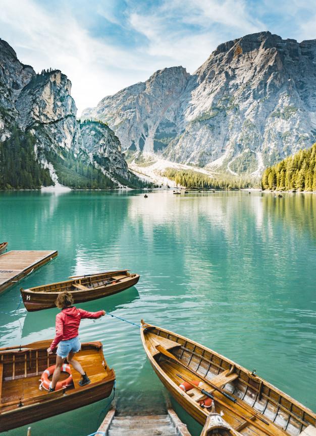 Lago di Braies - Coisas que eu sei