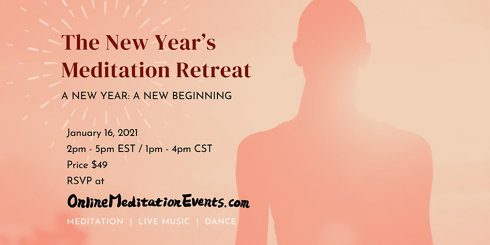 Ring in the New Year with a Meditation Retreat