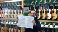 2015 La casa de la guitarra, tokyo. with Mr. 竹中清一