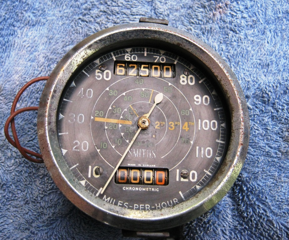 Secrets of the Smiths chronometric speedometer