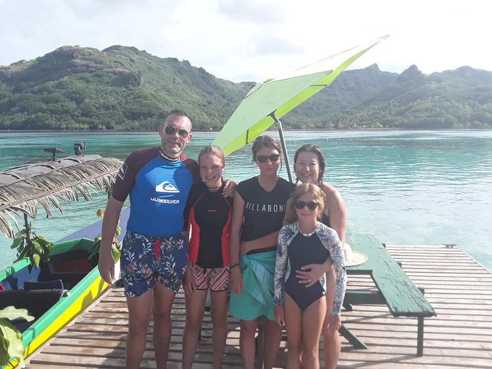 Huahine dream tours guests