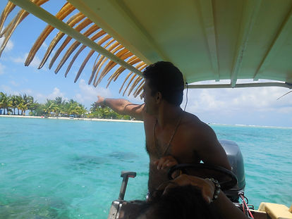 Huahine Dream Tours skipper and guide
