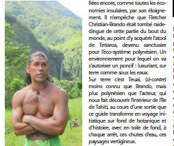 Tahiti dans la presse du Nord