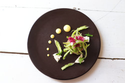 Tartare di bufalo - Asparagi - Curry