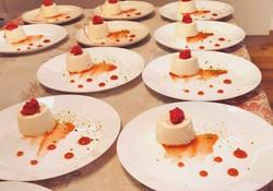 Cremoso alla vaniglia - Melograno - Pistacchi