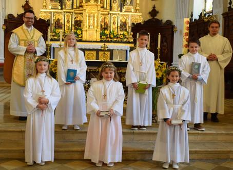 Dritte Erstkommunion am Kirchweihsonntag
