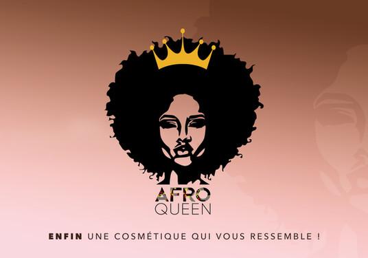 AFRO QUEEN  Identité Visuelle Conception Logo