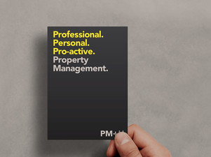 Professional. Personal. Proactive. It's more than a strapline.