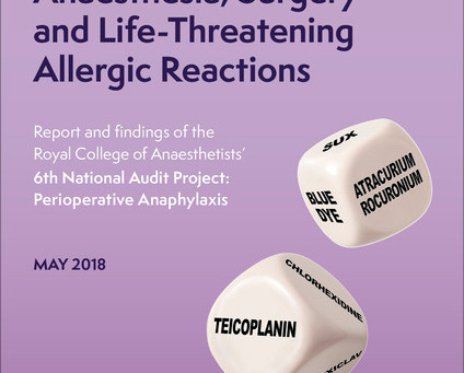 National Audit Project 6 - Perioperative Anaphylaxis