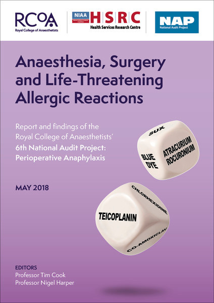 Anaesthesia, Surgery and Life Threatening Reactions