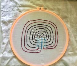 Labyrinthe des doigts/Finger Labyrinth, 2021