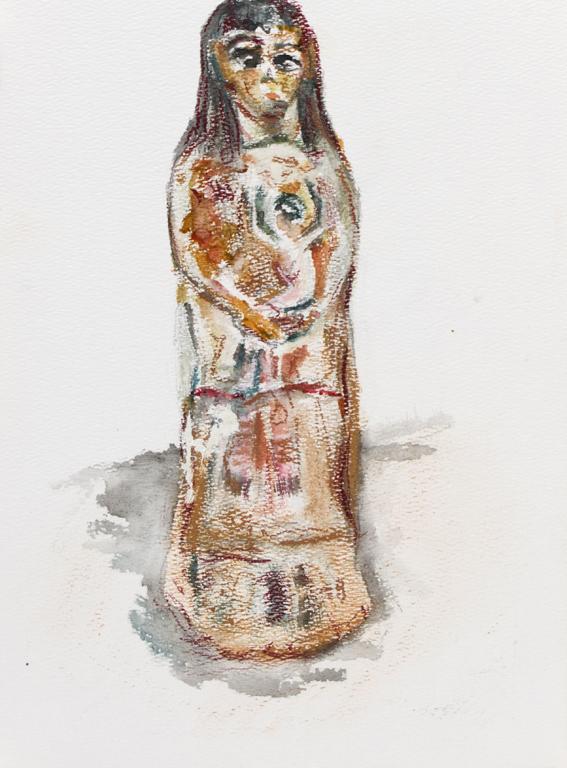 statue de maternité