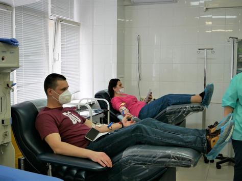 Старт окружной донорской акции - 22 сентября