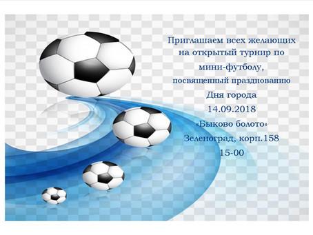 Открытый турнир по мини-футболу