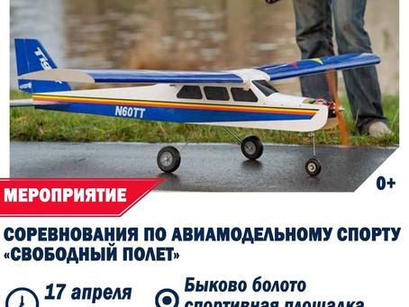 """Соревнования """"Свободный полет"""""""