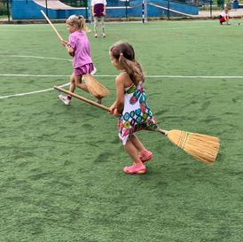 Спортивный праздник на Быковом болоте