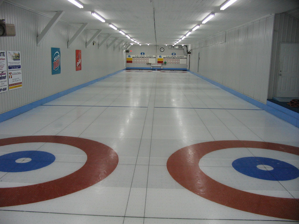 Club sportif Celanese curling ice
