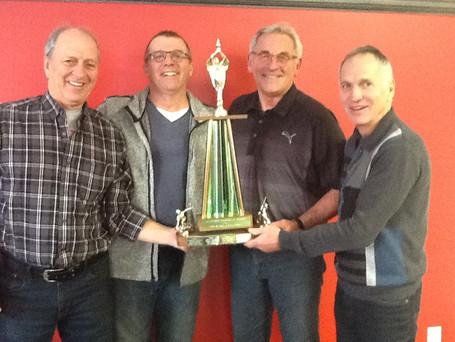 Équipe Blais remporte la Section B du tournoi Laurier Senior