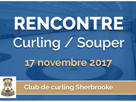 Rencontre Curling / Souper vendredi 17 novembre