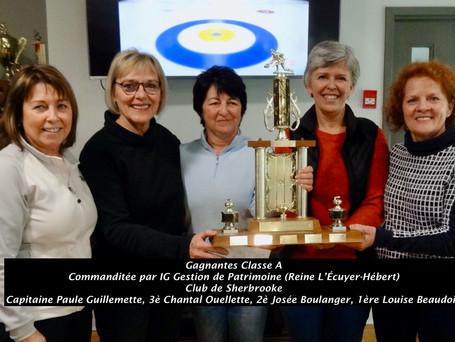L'équipe Guillemette remporte le tournoi invitation féminin - Les gilets laids 2020