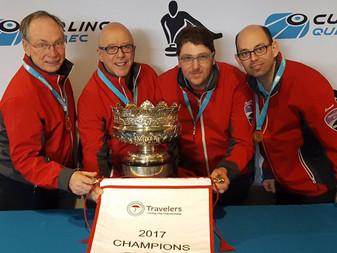 Estrie remporte le Championnat provincial Travelers masculin