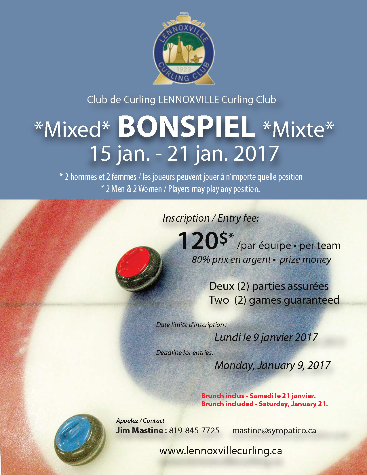 Club de curling Lennoxville