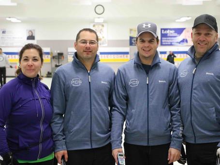 Sherbrooke domine le 1er arrêt du Circuit Colts Curling Québec