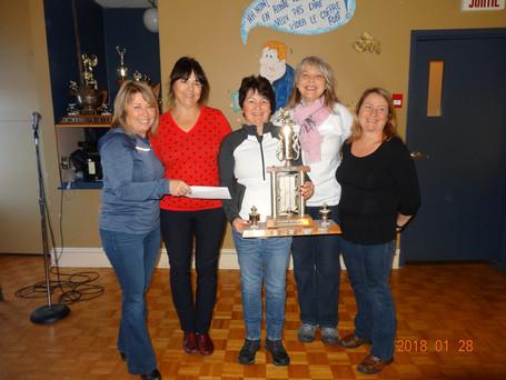 L'équipe Gosselin remporte le tournoi féminin pour la 2e année consécutive
