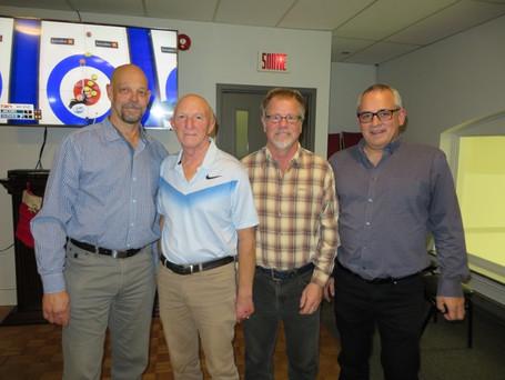 Équipe Lemieux du CC Laurier remporte le tournoi senior de Sherbrooke