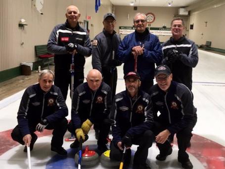Équipe Alarie remporte l'édition 2018 du tournoi Border Senior Open