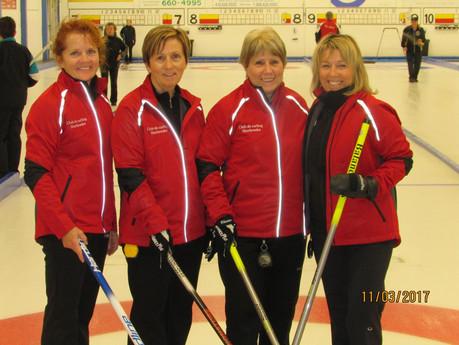 L'équipe Gaudreault remporte la section D au prestigieux tournoi Jackie Caron
