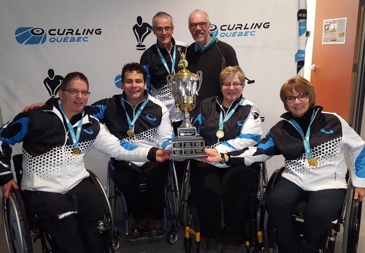 Championnat curling fauteuil roulant