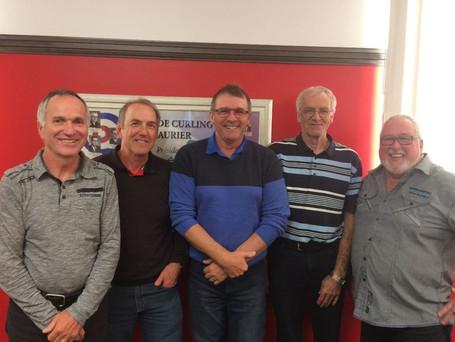 L'équipe Pierre Corbeil finaliste de la section B au Tournoi Masters à Victoriaville