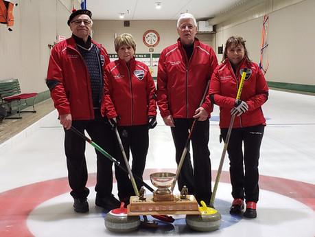 Équipe Verville remporte un deuxième tournoi de suite