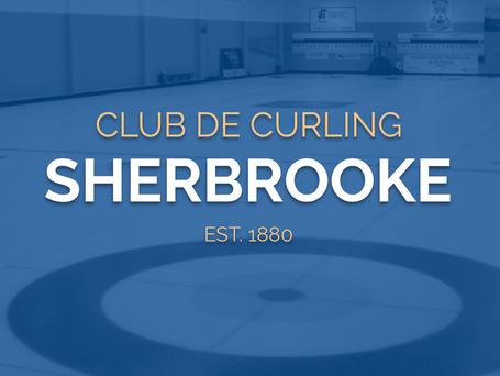 Nouveau site web pour le Club de curling Sherbrooke