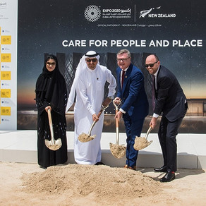 Construction underway for the New Zealand Pavilion at Expo 2020 Dubai