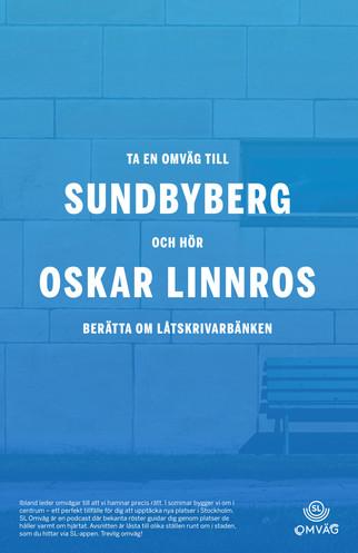 Ta en omväg till Sundbyberg och hör Oskar Linnros berätta om låtskrivarbänken