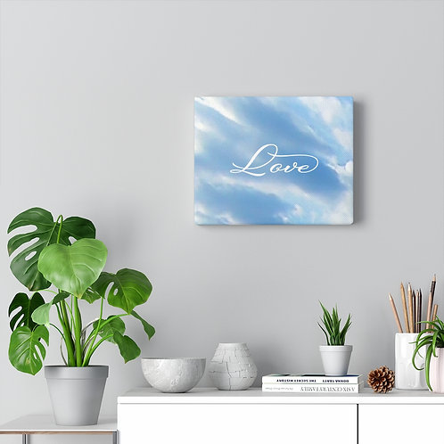 """Love"" Canvas Gallery Wraps"
