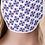 "Thumbnail: ""USA Heart Flower Pattern"" Mask"