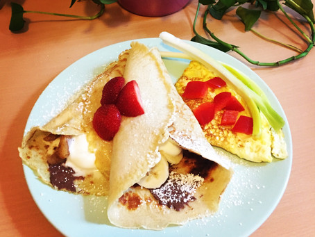 Banana Crepes by Andrea Lynn Cianflone