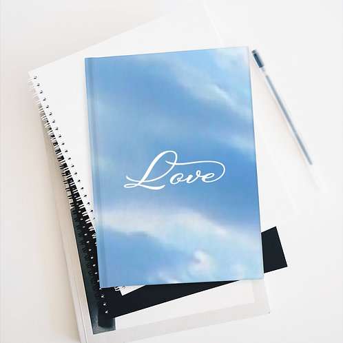 """Love"" Journal - Ruled Line"