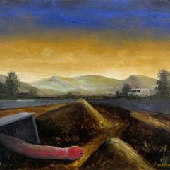 Study (Landscape with Amateur Psychoanalysis)