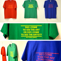 Art Lover T-shirts