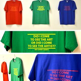 Art Lover T-shirts