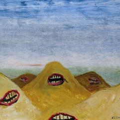 Study (Angry Mountains)