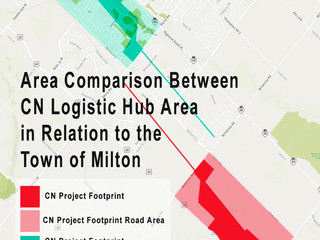 Have you considered the actual size of CN's Hub project?