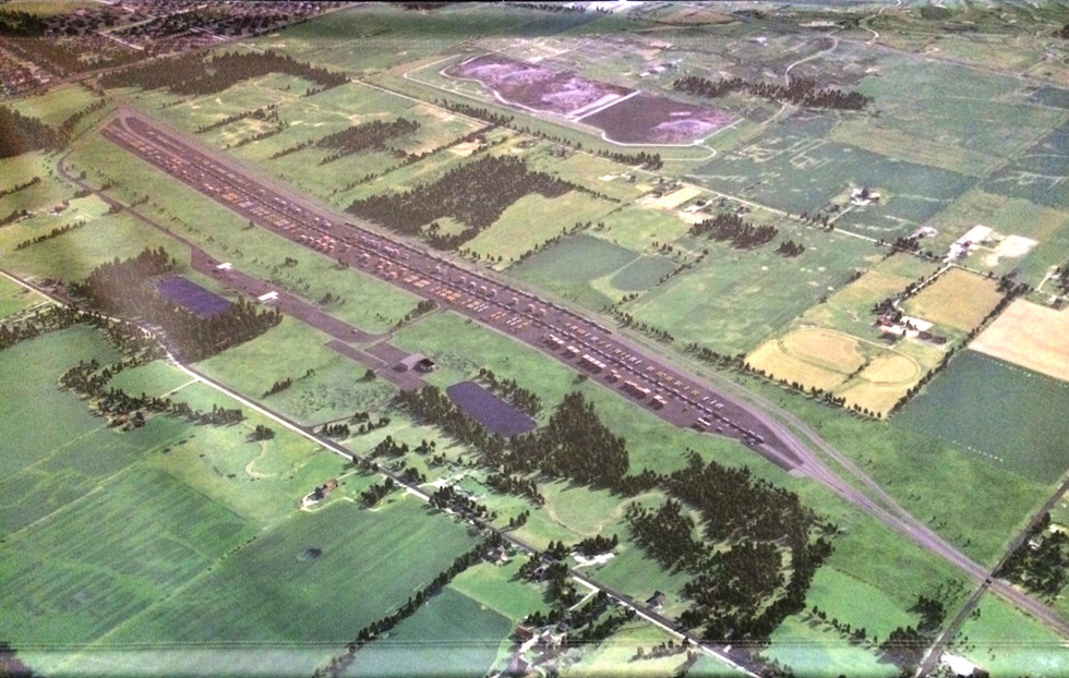 CN's artist's remdering of the proposed CN Hub