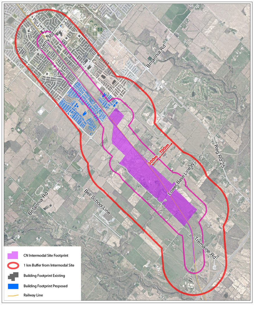 CN Intermodal site footprint