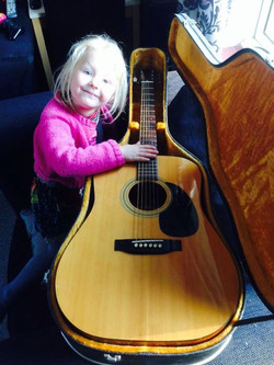 Yes, I still have my first guitar.jpg_A Fender Model F-03 bought from Promenade Music on Market Hill