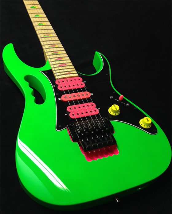 Steve Vai and the Ibanez Jem thing